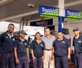 The Mossel Bay Topup Team Phumlani Somdyala, Reggie Edwards, Nazrin Losper, Janine Van Aswegen And Eben Booyse